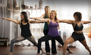 Veda Yoga Center: 10 or 20 Yoga Classes or One Month of Unlimited Yoga Classes at Veda Yoga Center (Up to 62% Off)