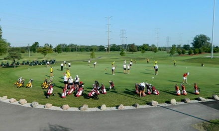Round of Golf with Cart Rental and Sleeves of Balls for Two, Four, or Six at Foss Park Golf Club (Up to 58% Off)