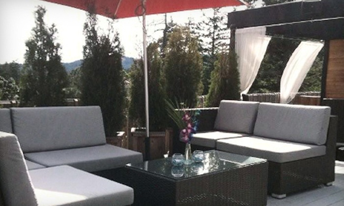 Cedar Ultra Patio - Victoria: Dinner for Two with One Appetizer and Two Entrees or $15 for $30 Worth of Upscale Pub Fare at Cedar Ultra Patio