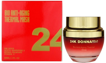 Donna Bella Cosmetics 24K Bio Anti-Aging Thermal Mask (1.18 Oz.)