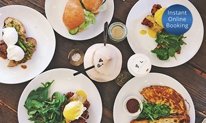 The Hughenden Hotel: Breakfast with Coffee ($25) or Brunch with Sparkling Wine for Two People ($35) at The Hughenden Hotel (Up to $62 Value)