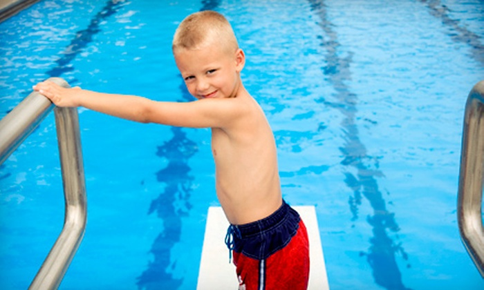 Gigglin' Marlin Swim School - The Museum District: 8 30-Minute Group Basic Swim Lessons for 1 Child or a 2-Hour Swim Party at Gigglin' Marlin Swim School (Up to 60% Off)