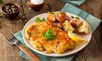 3-Gänge-Schnitzel-Menü für 2 oder 4 Personen im Restaurant Parkblick (bis zu 38% sparen*)