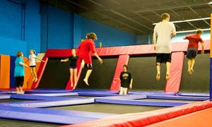 Jump Time Boise & Twin Falls: $13.25 for Two 60-Minute Jump Passes at Jump Time Boise & Twin Falls ($20 Value)