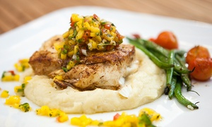 Frame 128 Restaurant: California Cuisine at Frame 128 Restaurant (Up to 45% Off). Two Options Available.