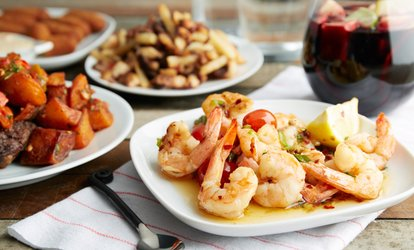 image for Selection of Tapas and Sangria for Two at 2Taps Wine Bar (Up to 45% Off)