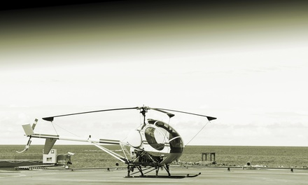 $159 for a 50-Minute Introductory Flight Lesson for One at New England Helicopter Academy ($250 Value)