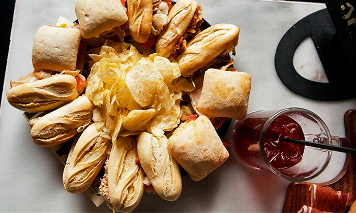100 Montaditos - Navy Yards Location: Sandwiches and Sangria at 100 Montaditos (Up to 50% Off). Three Options Available.