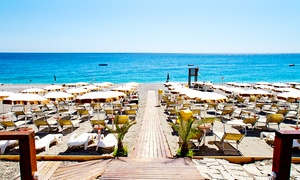 Lido Playa Soleluna: Ingresso di coppia al lido infrasettimanale o nel weekend con pranzo da Lido Playa Soleluna
