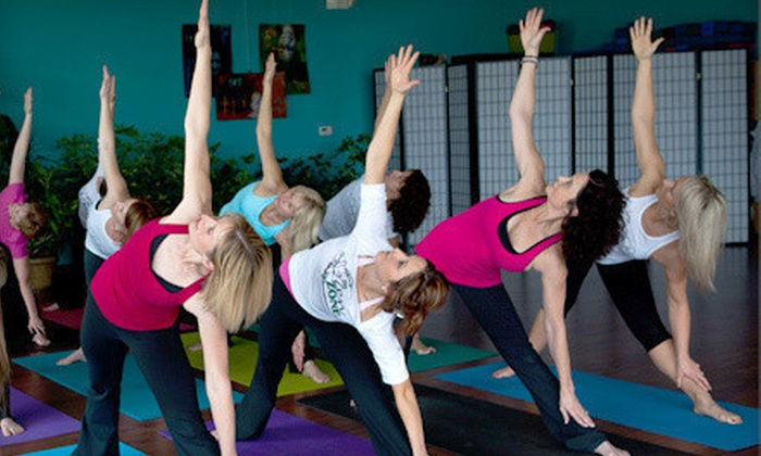 The Zen Zone - Lee's Summit: 10 or 20 Yoga Classes at The Zen Zone (Up to 70%Off)