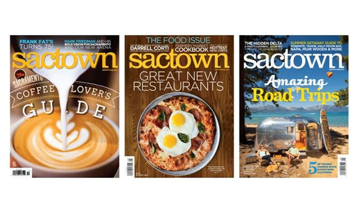 Sactown Magazine - Sacramento: $9.99 for a Two-Year Subscription to Sactown Magazine ($19 Value)