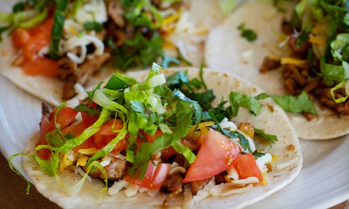 McDevitt Taco Supply - Downtown: $5 for Three Tacos and One Beverage at McDevitt Taco Supply ($10  Value)