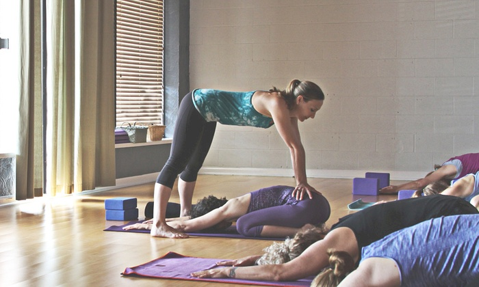 Darling Yoga - College Village: Five Classes or One Month of Unlimited Classes at Darling Yoga (Up to 77% Off)