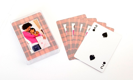 $9.99 for a Deck of 54 Personalized Playing Cards from Collage.com ($24.99 Value)