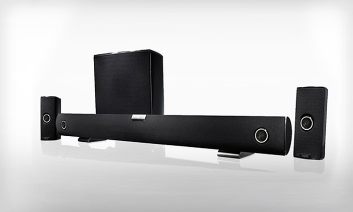 Vizio 5 1 Sound Bar With Subwoofer 219 99 For A