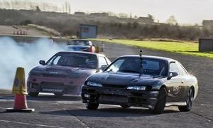 DRIFT ELITE LTD: Two-Hour Drifting Experience Plus Passenger Thrill Ride for £65 with Drift Elite (67% Off)
