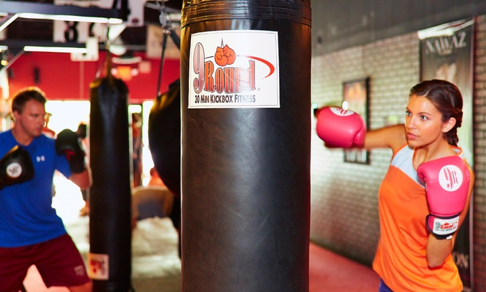 9round - Murrieta - Murrieta: Four Weeks of Unlimited Boxing or Kickboxing Classes at 9round Fitness (55% Off)