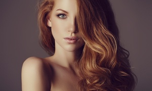 Sunkiss'd Studio: Haircut, Blowdry, and Style with Optional Partial or Full Highlights at Sunkiss'd Studio (Up to 53% Off)