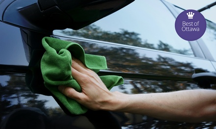 $129 for Gold Detailing Package with Engine Shampoo and Aqualpel at Splash Car Care ($240 Value)