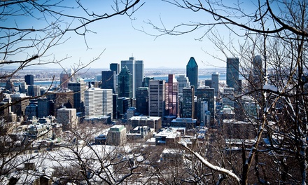 groupon daily deal - 1-Night Stay for Two at Le St-Martin Hôtel in Montreal, QC. Combine Up to 5 Nights.
