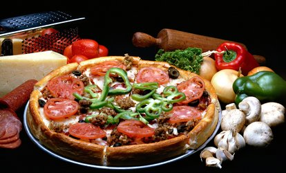 image for $16.50 for $30 Worth of Pizza, Pasta, and Sandwiches at Rosati's Pizza Valid at Three Locations