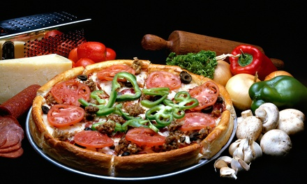 $16 for $30 Worth of Pizza, Pasta, and Sandwiches at Rosati's Pizza