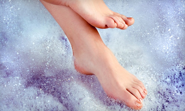 North Lakeland Foot Clinic - Coast2Coast Podiatry Group: Laser Nail-Fungus Removal for 5 or 10 Toes at North Lakeland Foot Clinic at Dejavu Salon (Up to 75% Off)