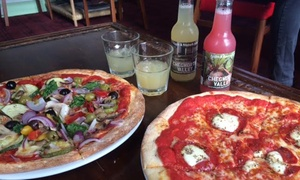 Ugly Bread Bakery: £9.95 for a 12-inch Pizza and Soft Drink for Two at Ugly Bread Bakery (Up to 51% Off)