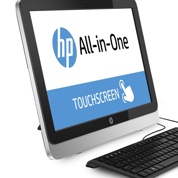 Hp 21 5 All In One Touchscreen Pc With Amd Amd E1 6010 Processor Groupon