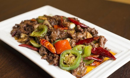 Chinese Cuisine for Lunch or Dinner at Lao Sze Chuan Uptown (Up to 40% Off). Six Options Available.