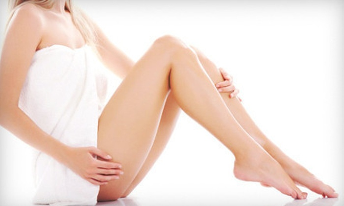 Laser Spa - Newton Center: One or Two Spider-Vein Treatments at Laser Spa (Up to 77% Off)
