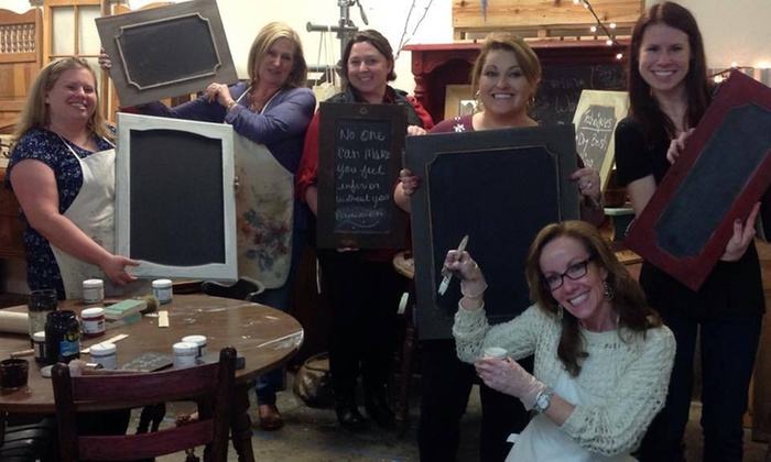 Rustic Chic Interiors - West Columbia: $54 for a Four-Hour Bring-Your-Own-Piece Paint Workshop at Rustic Chic Interiors $99 Value)