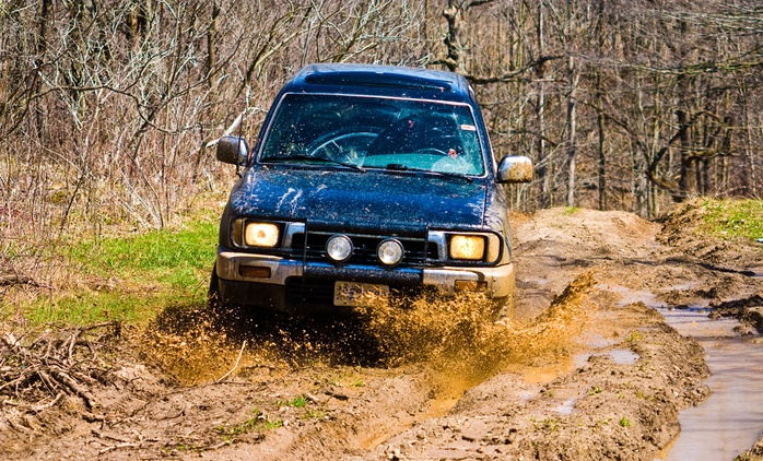 Off-Road Reverse Steer Driving Experience for Up to Four at Reverse Steer Jeeps Ireland (Up to 47% Off*)