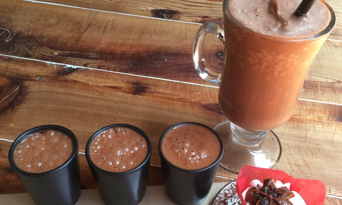 Mutari Chocolate House and Factory - Santa Cruz / Monterey: Four Gourmet Frozen Hot Chocolates or Two Hot-Chocolate Flights at Mutari Chocolate House and Factory (Up to 37% Off)
