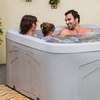 Lifesmart 4-Person Spa with Hydrotherapy Jets