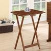 Acacia Tray Table Set (5-Piece)