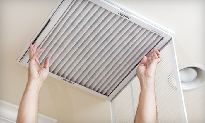 Green Clean Choice - Multiple Locations: Air-Duct Cleaning and Furnace Inspection with Optional Dryer-Vent Cleaning from Green Clean Choice (Up to 80% Off)