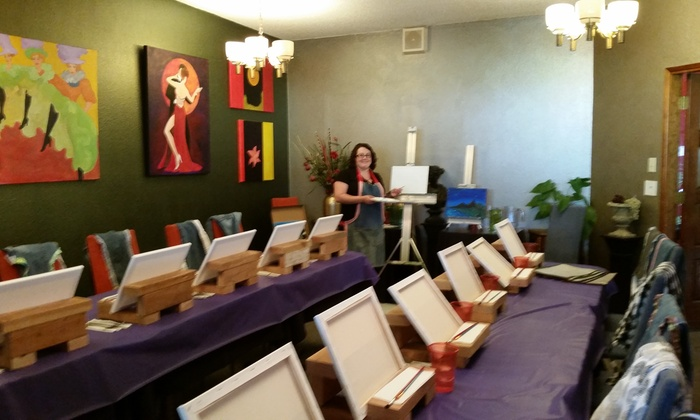 Beautiful Things - Walnut Grove: Three-Hour Painting Class at Beautiful Things Arts & Crafts (45% Off)