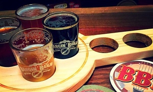 Bangin' Banjo Brewing Company: Craft-Beer Tasting for Two or Four with Souvenir Glasses at Bangin Banjo Brewing Company (Up to 48% Off)