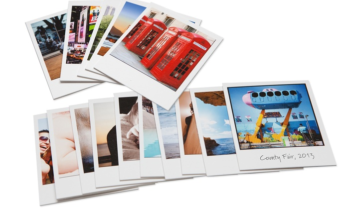 Polaroid Fotobar - Multiple Locations: $12 for $20 Toward Custom Polaroid Pictures at Polaroid Fotobar