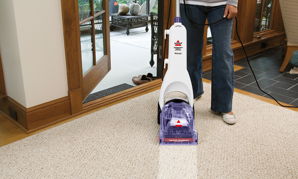 bissell cleanview carpet cleaner groupon goods