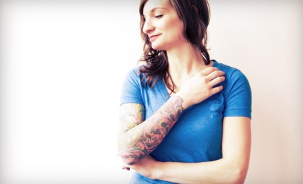 Tattoo sessions nampa ink groupon for Tattoo shops in nampa