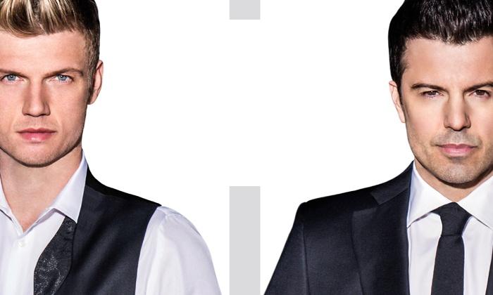 Nick Carter & Jordan Knight - Showbox SoDo: Nick Carter & Jordan Knight at Showbox SoDo             on Thursday, November 20, at 8 p.m. (Up to 40% Off)