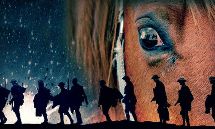 """""""War Horse"""" - Orpheum Theatre: """"War Horse"""" at Orpheum Theatre on June 21–23 (Up to 40% Off)"""