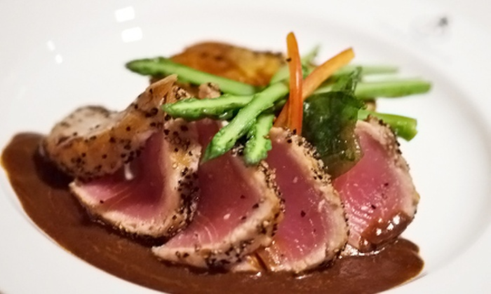 Pierpont's at Union Station - Crown Center: One or Three Groupons, Each Good for $40 Worth of Steak-House Cuisine at Pierpont's at Union Station (45% Off)