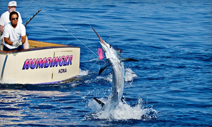 Humdinger sportfishing in kailua kona hawaii groupon for Kona deep sea fishing