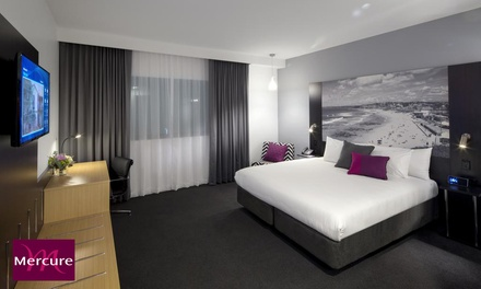 Newcastle: One or Two Nights for Two People with Parking and Late Check-Out at Mercure Newcastle Airport