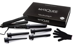 MarQuee Beauty Flat Iron and Curling Iron Set (8-Piece)