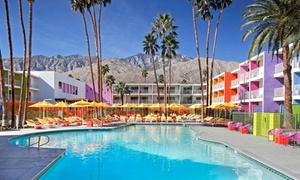 Rainbow-Colored 4-Star Palm Springs Resort  at The Saguaro Palm Springs - Premium Collection, plus 6.0% Cash Back from Ebates.