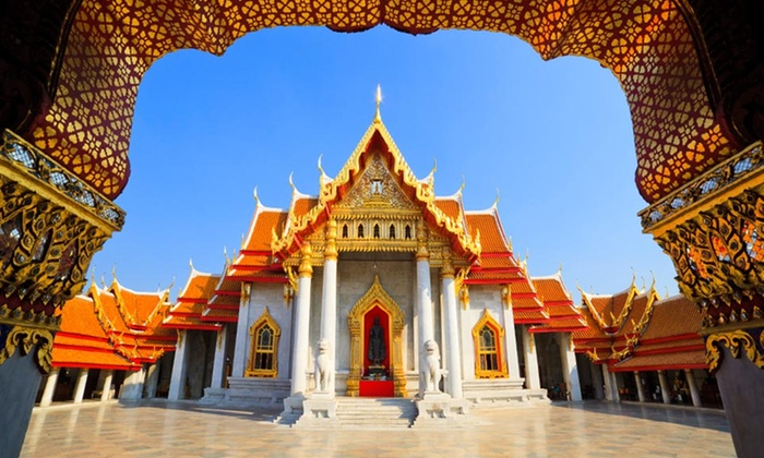 Thailand Tour with Airfare - Bangkok, Kanchanaburi & Ayutthaya: 9-Day Tour of Thailand with Airfare and Sightseeing Tours from Gate 1 Travel. Price/Person Based on Double Occupancy.